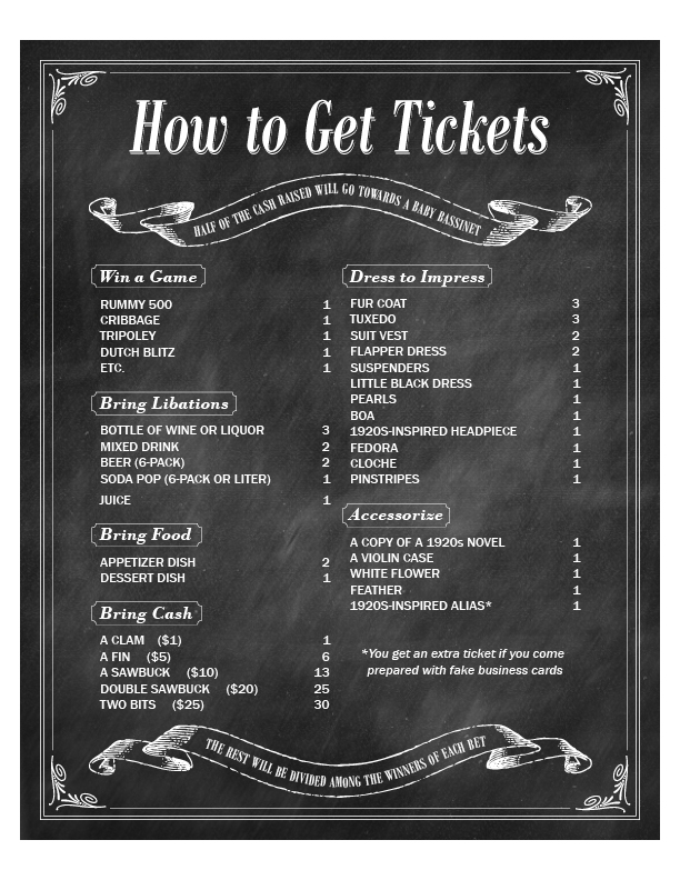 speakeasy tickets