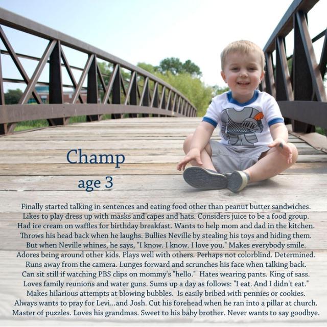 Champ 3 letter
