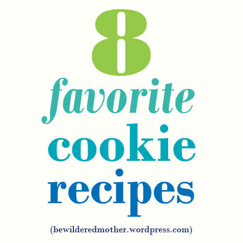 8 favorite cookie recipes, from Paleo chocolate chip, to homemade graham crackers, to ANZAC biscuits, to white chocolate cranberry cookies!